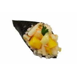 Temaki poulet mangue poivron