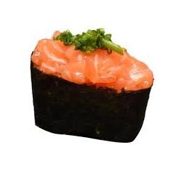 Gunkan tartare de saumon ciboulette x2