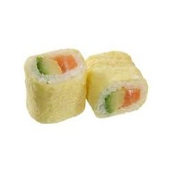 Eggroll saumon avocat